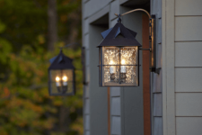 Outdoor lights can have a major impact on your home